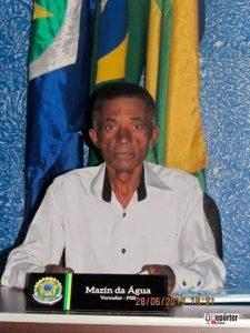 Vereador de São Félix do Araguaia – MT Mazinho da Água morre aos 57 anos