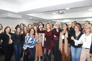 Fórum das Mulheres realizado pela UVEPAR em Curitiba-PR une cerca de 100 vereadoras e servidoras