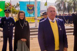 União dos Vereadores do Estado de São Paulo- UVESP é homenageada pela Força Aérea Brasileira .
