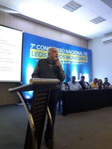 Presidente da Associação Brasileira de consultores Políticos,fez parte da Programação do 7º Congresso Nacional