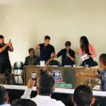 Vereadores Jovens são diplomados e empossados em solenidade na Camara municipal de Lagoa de Dentro-PB