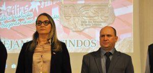 Seminário Estadual teve abertura oficial em Treze Tílias com a presença da Vice-Governadora