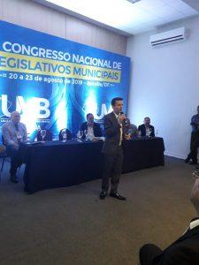 Educacao no trânsito, Mobilidade Urbana e a Camara Municipal- foi tema no 7° Congresso Nacional em Brasília.
