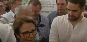 Expointer: Presidente da UVB participa de solenidade com a presença da Ministra da Agricultura
