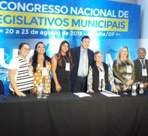 Painel das Mulheres é apresentado no 7°congresso Nacional de Legislativos Municipais.