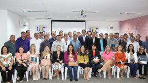 UVC realiza encontro de presidentes com a presença do Senador Cid Gomes