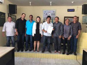 Presidente da Câmara de Baia da Traição-PB recebe Título de Cidadão.