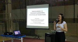 Professores da rede municipal participam de palestra sobre direito animal