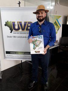 Vereador de Milhã -CE visita sede da UVB em Brasília