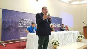 Anízio Amorim fez palestra sobre a Reforma da Previdência em Encontro de Vereadores Baianos