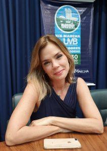 Atriz e Ativista , Alexia Dechamps esteve participando da programação da Causa Animal em São Paulo