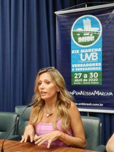 A grande ativista Luisa Mell  fez participação no Encontro da Causa Animal em São Paulo