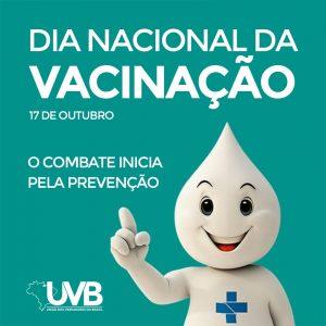 Dia Nacional da Vacinação o combate inicia pela prevenção.