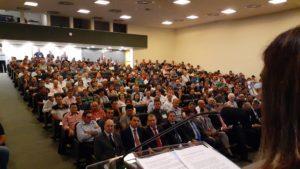 Congresso Estadual  de Vereadores promovido pela UVESC teve a presença do presidente da UVB