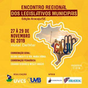 Encontro Regional dos Legislativos Municipais em Aracaju, Sergipe