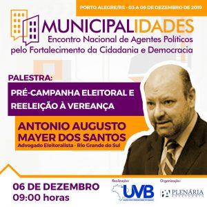 Dr. Antonio Augusto Meyer – Advogado especialista em direito eleitoral  confirmado em Porto Alegre.
