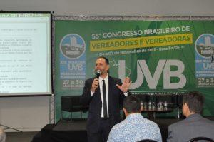 André Camilo, especialista em direito Municipalista debate a Pec  48/19 no  55º Congresso Brasileiro de Vereadores