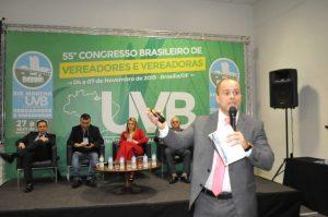 Princípios do Processo Legislativo  foi o tema da  abertura do 55 Congresso Brasileiro em Brasília.