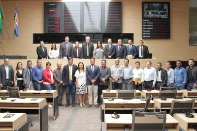 União dos Vereadores Brasil-UVB  é homenageada na Câmara Municipal do Recife