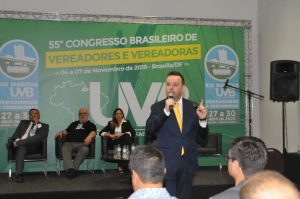 Advogado Especialista em direito eleitoral  participa do 55 Congresso Brasileiro de Vereadores