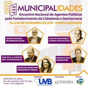 Municipalidades-Encontro Nacional de Agentes Políticos pelo Fortalecimento da Cidadania e Democracia