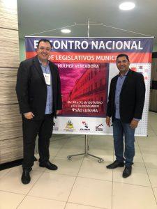 Presidente da UVB foi um dos palestrantes do Encontro Nacional de Legislativos Municipais em São Luís-MA