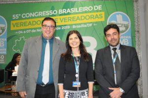 Vice presidente da caixa econômica federal participa do 55º Congresso Brasileiro de vereadores