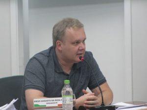 Diego Pretto é o novo presidente da Câmara de Encantado/RS.