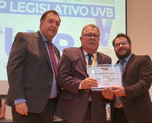 UVB homenageia Superintende da UVB-Nordeste no Top Legislativo