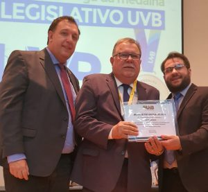 UVB homenageia Superintende da UVB-Nordeste no Top Legislativo