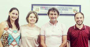 Câmara municipal de Capitão/ RS tem nova diretoria para 2020.