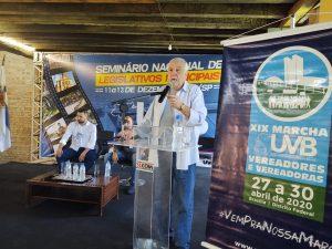 Comunicação e Marketing Político no Seminário Nacional de Legislativos Municipais em Itu-SP.