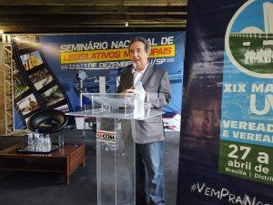 Diretor Geral do Tribunal de Contas do Estado de São Paulo participa do Seminário Nacional da UVB.