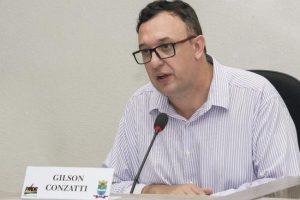 Presidente da UVB prestigia sessão da câmara municipal de Encantado-RS.