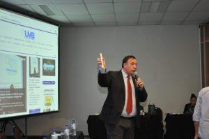 Presidente da UVB explana a importância da comunicação para a divulgação das atividades legislativas