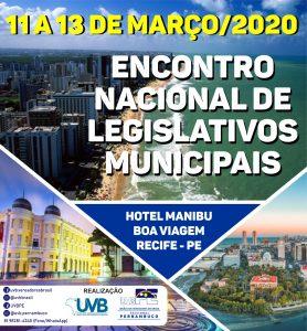 UVB/PE-Encontro Nacional de Legislativos Municipais 2020