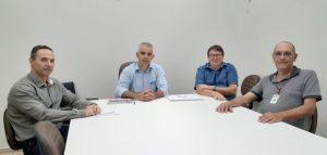 UVESC-Superintendente visita câmaras do Oeste e Extremo Oeste de Santa Catarina.