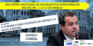 Deputado Federal Danilo Cabral confirmado em Recife-PE