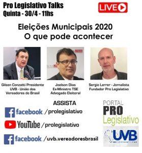 ASSISTA A REPRODUÇÃO DA LIVE SOBRE AS ELEIÇÕES 2020 E O COVID-19