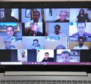 Em ato histórico vereadores realizam a primeira Sessão Virtual do Poder Legislativo de São Gabriel-RS