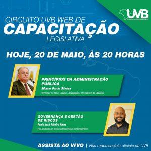 Terceiro modulo do Circuito UVB WEB será transmitido nesta quarta feira (20/05)