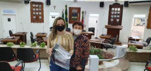 Câmara de Encantado recebe máscaras de proteção