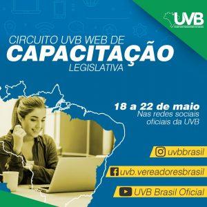 Circuito UVB WEB inicia dia 18 de maio as 20 horas