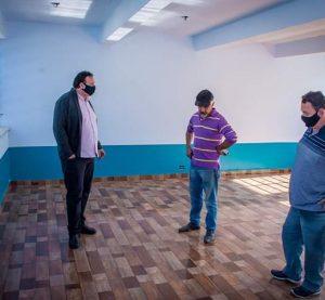 Vereadores de Iraí-RS visitam futura instalações de Escola no Bairro Operário