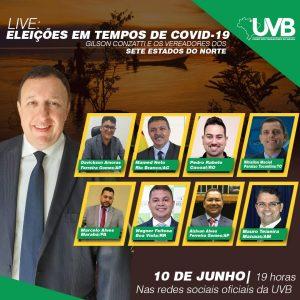 UVB promove live com os parlamentares representantes dos Estados do Norte