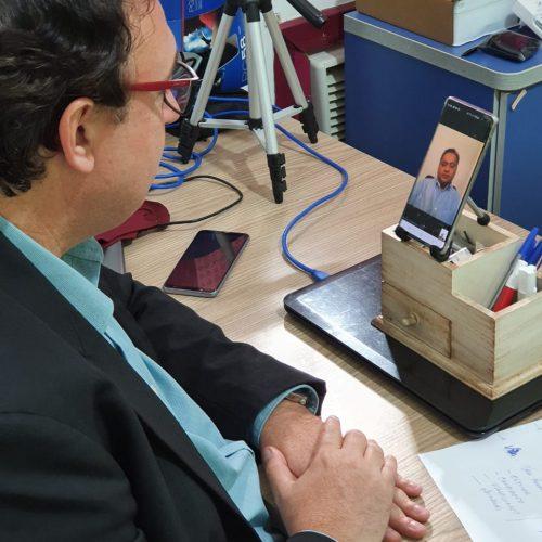 Adiamento das eleições é tema de reunião entre Conzatti e senador Weverton Rocha