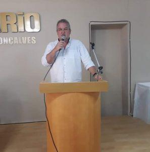UVB lamenta a morte do vereador Samir Cubal de  Minas do Leão-RS