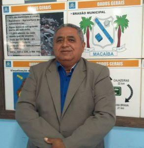 Presidente da câmara de vereadores de Macaíba-RN morre aos 61 anos