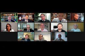 Em reunião com TSE e especialistas da saúde, Davi defende proposta de consenso para adiar eleições