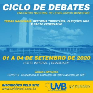 CICLO DE DEBATES – 01 A 04/09 – BRASÍLIA/DF